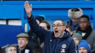 Final Chelsea vs Man City, Sarri Tak Peduli Rumor Pemecatan
