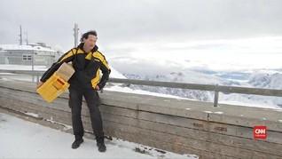 VIDEO: Kisah Oberbauer, Tukang Pos di Gunung Tertinggi Jerman