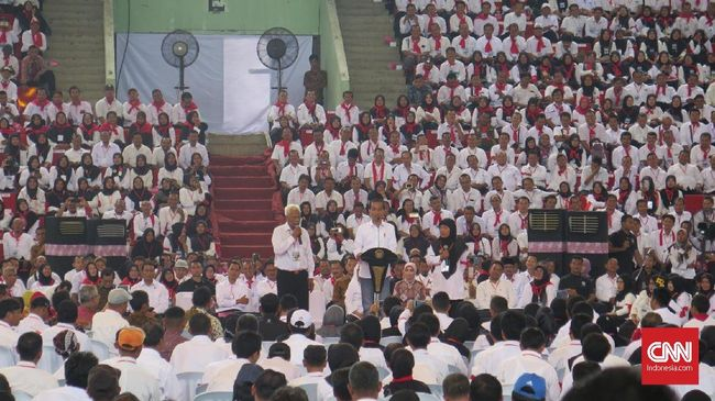 Jokowi Janji Upayakan Angkat Penyuluh Pertanian Jadi ASN