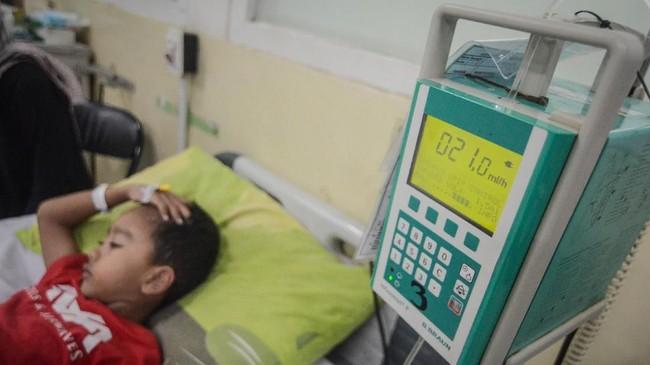 Kementerian Kesehatan mencatat sepanjang Januari 2019 telah terjadi kasus DBD yang menjangkiti 15.132 orang dan jumlah kematian mencapai 145 orang. ANTARA FOTO/Raisan Al Farisi/aww.