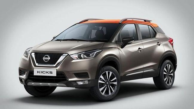 Nissan Kicks, Pesaing HR-V dan CX-3 Diluncurkan di India