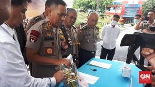 Napi Lapas Jambi Kirim 1 Kilogram Sabu ke Palembang