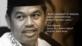 Ketua TKD Jokowi-Maruf Provinsi Jawa Barat, Dedi Mulyadi.