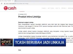 T-Cash Berubah jadi LinkAja, Jasa Marga Pindahkan Gerbang Tol