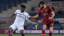 AS Roma vs AC Milan Berakhir Imbang