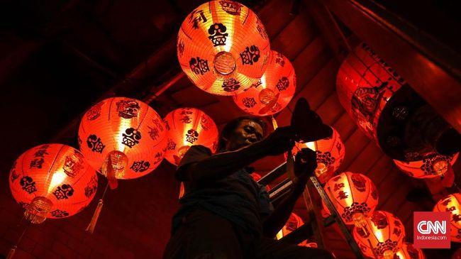 Merayakan Imlek Tanpa Suara Petasan di Chongqing