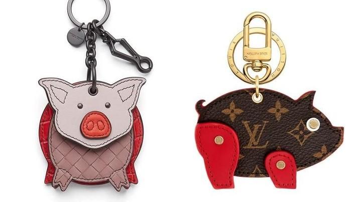 Sambut Imlek, Louis Vuitton Cs Luncurkan Koleksi Motif Babi