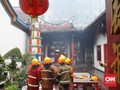Api di Wihara Bandung Padam, Polisi Terjunkan Tim Inafis