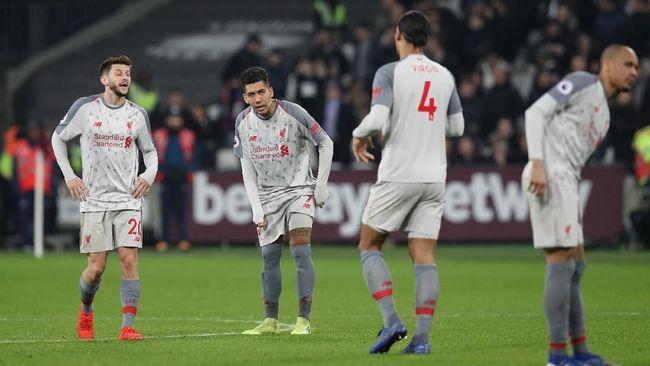 Liverpool Ditahan Imbang West Ham