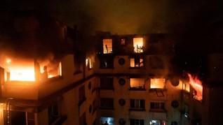 Korban Meninggal Kebakaran di Paris Menjadi 10 Orang