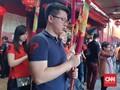 Ratusan Warga Tionghoa Rayakan Imlek di Wihara Petak Sembilan