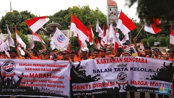 Direksi PT Pos Indonesia Buka-bukaan Respons Tuntutan Pak Pos
