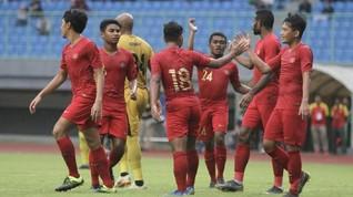 Timnas Indonesia U-22 Asah Bola Mati Sebelum ke Kamboja