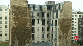 VIDEO: Kebakaran Apartemen di Paris Tewaskan 10 Orang