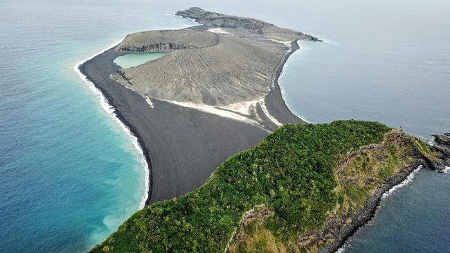 NASA Temukan Pulau Baru Hasil Letusan Gunung Api di Oceania