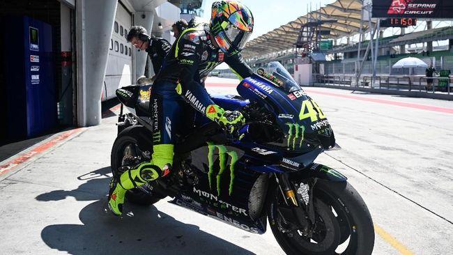 Rossi Kirim Sinyal 'Perang' Pertama untuk Marquez-Lorenzo