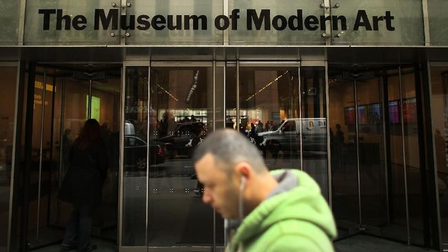 Museum of Modern Art New York Ditutup Sementara