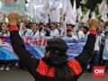 UMP 2020 'Cuma' Naik 8,5 Persen, Serikat Pekerja Protes