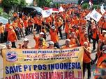 Demo Serikat Pekerja Pos Indonesia, Tuntut Rombak Direksi