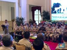 Janji Jokowi, Naikkan Tunjangan 'Juru Ukur' ke Titik Maksimal