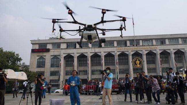 AirNav Antisipasi agar Drone Tak Ganggu Penerbangan Sipil