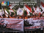 Kegigihan Pak Pos Demonstrasi, Demi Tuntut Direksi Dicopot