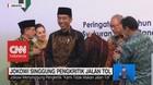 Jokowi Singgung Pengkritik Jalan Tol