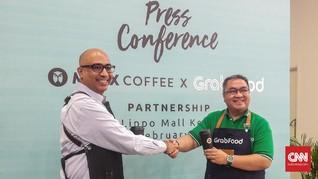 Maxx Coffee Kini Bisa Dipesan Lewat GrabFood