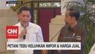 Petani Tebu Keluhkan Impor & Harga Jual kepada Jokowi