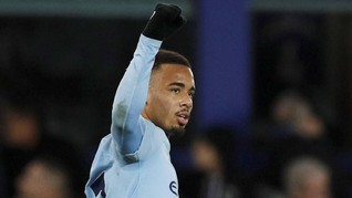 Gabriel Jesus Pakai Nomor Sembilan di Manchester City