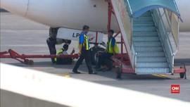VIDEO: Landasan Pacu Rusak, Bandara Juanda Sempat Ditutup