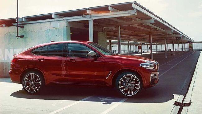 BMW X4 Baru Meluncur di Indonesia