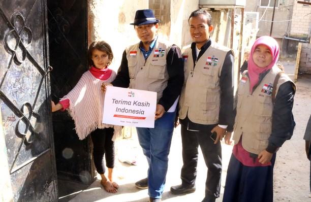 Terima Kasih Indonesia dari Pengungsi Palestina