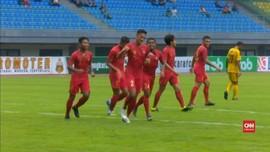 VIDEO: Timnas Indonesia U-22 Buang Keunggulan Dua Gol