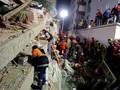 Apartemen di Istanbul Runtuh, Dua Orang Tewas
