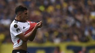 Real Madrid Ditolak Gelandang River Plate