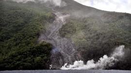 Erupsi Gunung Karangetang, 2 Kampung di Sulut Terisolasi