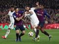 Barcelona vs Real Madrid  di Copa del Rey Berakhir Imbang