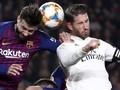FOTO: El Clasico Barcelona vs Real Madrid Berakhir Imbang 1-1
