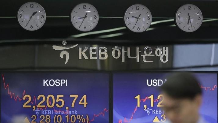 Ekonomi Jepang Melempem, Bursa Saham Asia ke Zona Merah