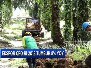 Ekspor CPO 2018 Tumbuh 8% Secara Tahunan