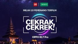 Simak Peserta Terpilih Cekrak-cekrek With OPPO di Sini