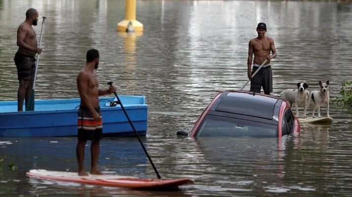 Badai Dahsyat di Rio Janeiro, 6 Orang Meregang Nyawa