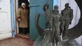 Pemerintah Soviet pada saat itu mengubah fungsi Gereja Saint Paraskeva menjadi museum antariksa sebagai salah satu kampanye anti agamanya. (AFP Photo/Aleksey Filippov)