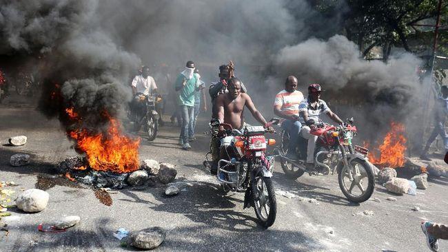 Protes Ribuan Warga Haiti, Dua Orang Tewas