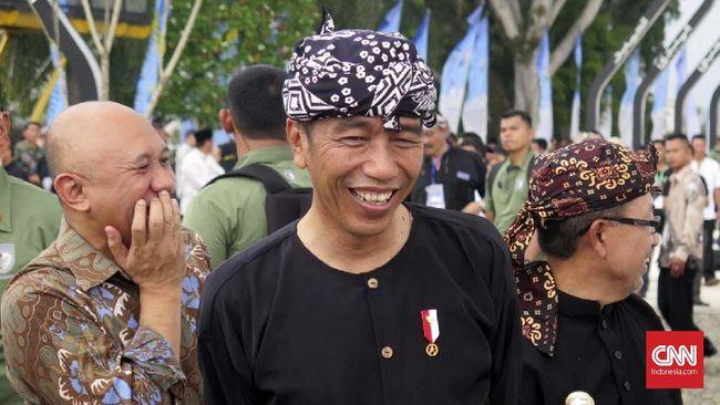 Jokowi soal Jalan 191.000 Km: Tak Percaya, Ukur Sendiri