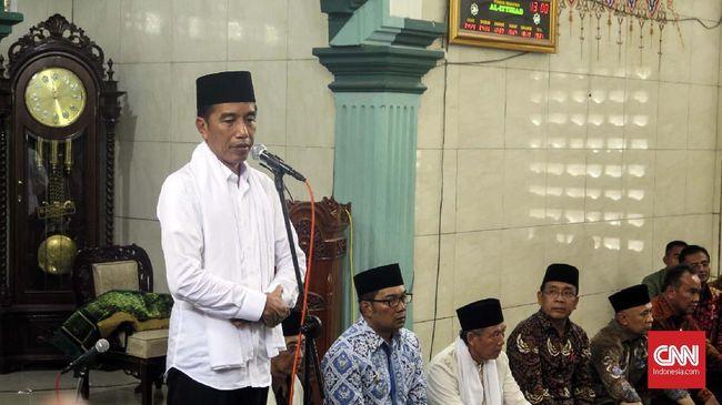 Di Cianjur, Jokowi Minta BPN Percepat Sertifikat Tanah Masjid