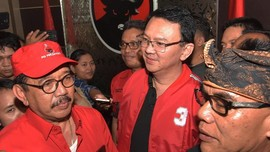 Jadi Kader PDIP, Ahok Resmi Dukung Jokowi di Pilpres 2019