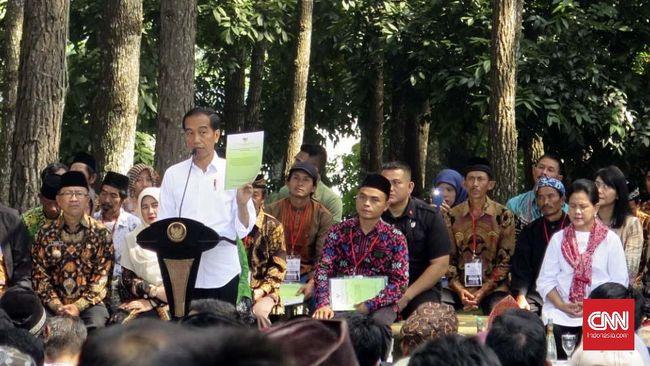 Jejak 4 Tahun Ancaman Jokowi Rebut Kembali Lahan Raksasa