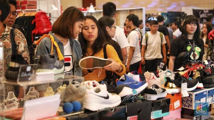 Berburu Sepatu Idaman di Pestanya Para Pecinta Sneaker